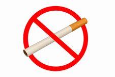 Free No Smoking Sign Stock Image - 3890951
