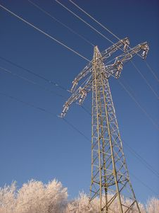 Free Transmission Line Royalty Free Stock Photos - 3891488