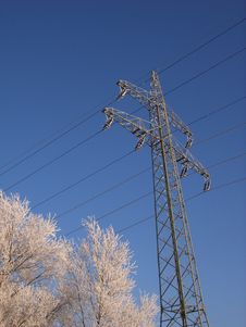 Free Transmission Line Stock Photography - 3891522