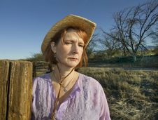 Ranch Woman Royalty Free Stock Image