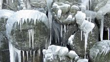 Free Icicles Royalty Free Stock Photography - 3893057