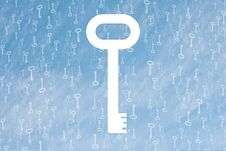 Free Key Symbol Background Stock Photography - 3894502
