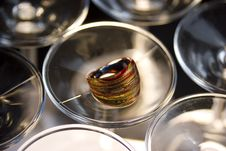 Free Murano Glass Ring Royalty Free Stock Photos - 3894698