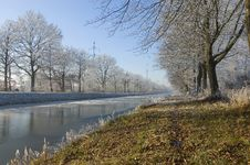 Free Winter Canal Stock Images - 3895644