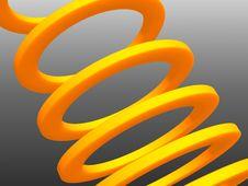Free Orange Rings Stock Image - 3896421
