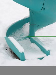 Free Playground After Snowfall Stock Photos - 3896553