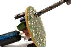 Free Soldering Royalty Free Stock Photo - 3896745