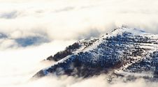 Mountains Above The Clouds Royalty Free Stock Photography