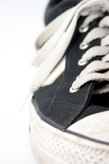 Dirty Worn Sneaker 2 Royalty Free Stock Image