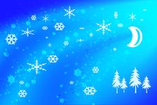 Free Winter Background Royalty Free Stock Photos - 3897408