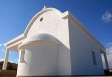 Free Agioi Anargoiroi Church, Protaras Cyprus Royalty Free Stock Photo - 3897685