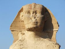 Free Famous Sphinx Royalty Free Stock Image - 3898256