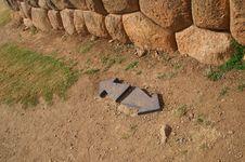 Free Inca Castle Ruins In Chinchero Royalty Free Stock Photo - 3899345