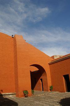 Free Santa Catalina Monastery In Arekipa Royalty Free Stock Image - 3899346