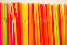 Free Random Colorfull Straws In Line Royalty Free Stock Photos - 3899548