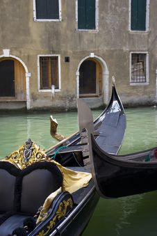 Free Venecian Gondolas Stock Photos - 3899553