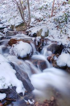 Free Winter River Stock Image - 3899921