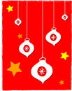 Free Baubles And Stars Stock Photo - 394640