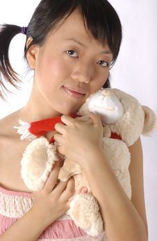 Free Young Chinese Girl Stock Photography - 391202