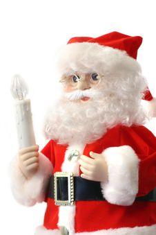 Free Santa Over White Royalty Free Stock Photo - 391675