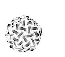 HandCraft Ball Artwork Stock Photography