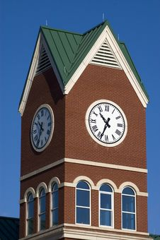 Free Clock Tower Royalty Free Stock Photography - 394617