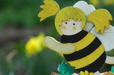 Free Funy Wasp Stock Image - 395031