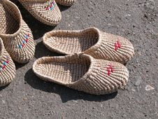 Free Slippers Stock Image - 395331