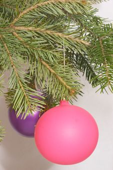 Free Christmas Balls Stock Images - 395524