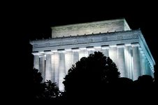 Free Lincoln Memorial Stock Photography - 398492