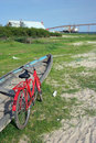 Free Bicycle And Canoe Stock Images - 3902314