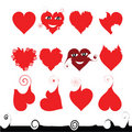 Free 12 Hearts Of Different Shape Stock Images - 3903774