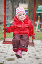 Free Girl On The Swings Stock Photography - 3907302