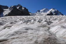 Free Glacier & Peacks Stock Photography - 3901132
