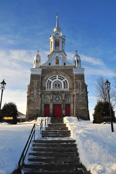 Free Church In The Snow Stock Photos - 3901833