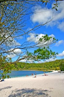 Free Lake McKenzie, Fraser Island, Australia Stock Images - 3901914