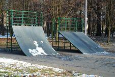 Free Skate Park Stock Image - 3902271