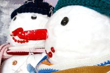 Free Christmas Snowmen Stock Images - 3902534