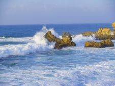 Free Foamy Rough Sea Royalty Free Stock Image - 3902846