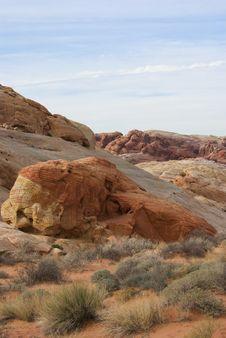 Free Desert Landscape Royalty Free Stock Image - 3903096