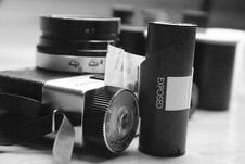 Free Film Roll Royalty Free Stock Image - 3905806