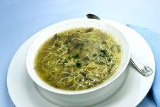 Free Soup Of Goose. Close Up Stock Photo - 3905810