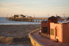Free Capitola Sunrise Royalty Free Stock Image - 3906136