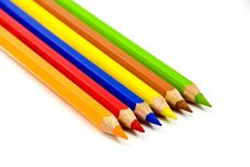 Free Colored Pencils.a Close Up Shot Royalty Free Stock Image - 3906676