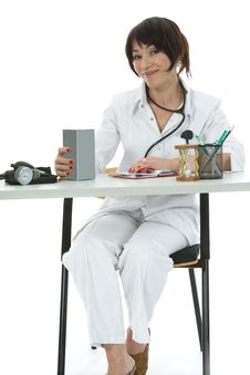 Free Young Doctor With Stethoscope Stock Photo - 3907310