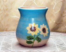 Small Vase Royalty Free Stock Image