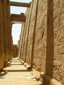 Free Luxor Temple In Egypt Stock Images - 3907474