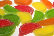 Free Segments Of Fruit Candy Royalty Free Stock Photography - 3907507