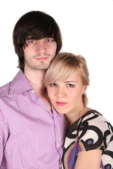 Free Couple On White Stock Photo - 3907560