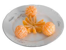 Free Peeled Tangerines Stock Photo - 3908650